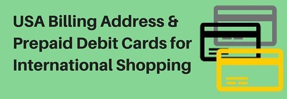 International virtual prepaid debit & credit cards