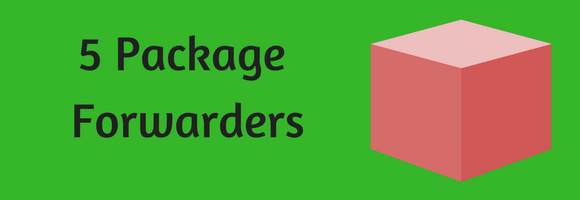 A list of package forwarders and USA shopping addresses
